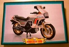 HONDA CX500 CX 500 TURBO CLASSIC MOTORCYCLE BIKE 1980'S PRINT PICTURE