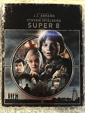 Super 8 NEW Ltd Ed SteelBook Steel Book Blu-Ray Disc/Case only- NO Digital Copy