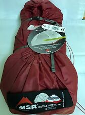 MSR Mutha Hubba NX 3-Person Backpacking Tent. 02754