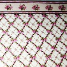 Dollhouse Gofrado Decorative Wallpaper 34502 World Model Miniatures 1:12 gemjane