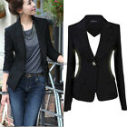 New Women's One Button Slim Casual Business Blazer Suit Lady Jacket Coat Outwear