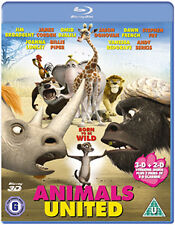 ANIMALS UNITED 3D - BLU-RAY - REGION B UK