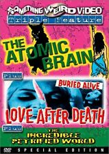 Atomic Brain/Love After Death/The Incredible Petrified Worl (2003, DVD NIEUW) BW