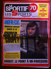 LE SPORTIF 70 du 27/12/1978; F. Van Der Elst/ Jan Boskamp/ Jean Marie Pfaff