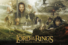 Lord of the Rings-Trilogy Poster Print, 36x24