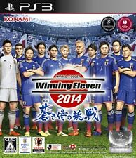 Used PS3 World Soccer Winning Eleven 2014 Aoki Samurai no Chousen Import Japan、