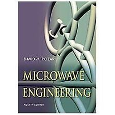 Microwave Engineering by David M. Pozar (2011, Hardcover) ,4th edition
