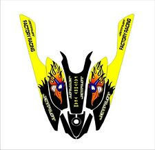 kawasaki 800 sxr sxi sx jet ski wrap graphics pwc stand up jetski decal kit 23
