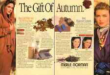 1988 glamour ad for Merle Norman Cosmetics -190