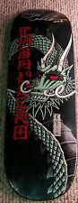 SIGNED STEVE CABALLERO POWELL PERALTA BLACK BAN THIS DRAGON SKATEBOARD DECK  COA