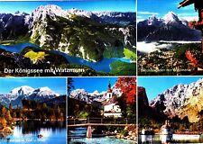 Der Königssee mit Watzmann  ,gelaufene Ansichtskarte
