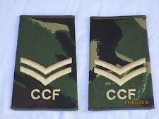 Rangschlaufen:  Corporal, CCF,DPM, Combined Cadet Force,Paar, 60x95mm