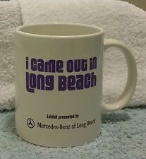 LGBT Gay Pride I came out in Long Beach Coffee   Mug Cup Historical Society.(S96