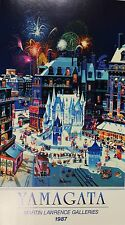 "Hiro Yamagata ""Snow Castle 1986"" Poster Martin Lawrence Gallery Limited Edition"