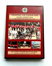 GOLDEN JUBILEE YEAR -TROOPING THE COLOUR 2002 - 1 SCOTS GDS DVD