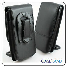 B1-VERTICAL LEATHER BELT CLIP POUCH CASE HOLSTER FOR TELSTRA HTC DESIRE 310