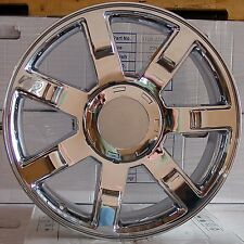 "Set (4) 24"" Chrome Cadillac Escalade Style Wheels Rims Chevy GMC 1500 1999 - up"
