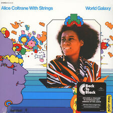 Alice Coltrane - World Galaxy Back To Black  (Vinyl LP - 1972 - EU - Reissue)