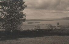 Postcard Rangeley Lakes Maine ME From Dallas Hill Published By Bicknell Mfg Co