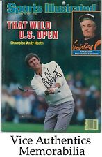 Andy North Signed Autographed Auto 1985 U S Open SI Sports Illustrated No Label