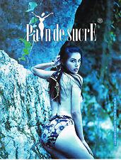 PUBLICITE ADVERTISING 074  1995  PAIN DE SUCRE collection maillots de bain
