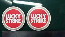 2x Lucky Strike, Motorcycle, Car, Gilera, yamaha Racing Sticker Printed Vinyl
