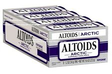 Altoids ARCTIC PEPPERMINT 8 Sealed Tins FRESH breath mint 1.2oz candy Callard