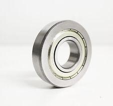 10x LR207 KDDU Laufrolle 35x80x17 mm ballige Mantelfläche Polyamidkäfig