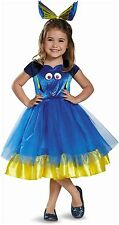 Disguise Dory Toddler Tutu Deluxe Finding Dory Disney/Pixar Costume, Small/2T