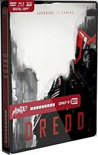 Dredd: Best Buy MONDO X Exclusive SteelBook #005 [Blu-ray 3D + 2D +DVD] NEW