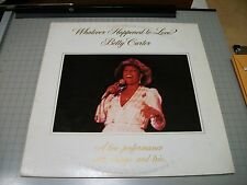 Whatever Happened To Love Betty Carter~1982 Vocal Jazz~VG++ Vinyl~FAST SHIPPING!