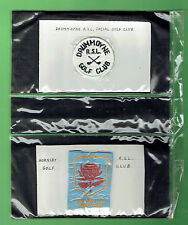#CC.  COLLECTION OF 24 AUSTRALIAN  GOLF CLOTH PATCHES
