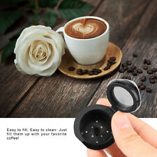 Best Quality 2pcs Refillable-Reusable-Coffee-Capsules-Pod-for-Nespresso+Spoon