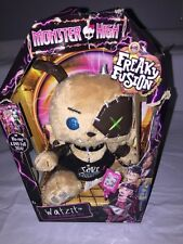 Monster High Freaky Fusion Watzit Plush Dog Frankie Stein NEW Package Damaged