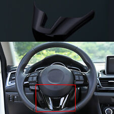 1PCS Steering Wheel Trim Cover Interior  INSERT TRIM Fit for Mazda3 Axela 14 -16