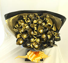 FATHERS DAY LARGE FERRERO ROCHER CHOCOLATE SWEET TREE BOUQUET 34 ITEMS