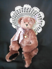 "Vintage but NEW LE Bear by Vicki Wambach Jaymar Hat Series SAVANNAH 19"" Mohair"