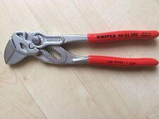 Knipex 86 03 180 Zangenschlüssel Zange und Schraubenschlüssel in einem