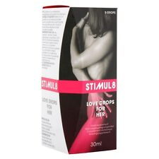 Stimul8 Love Drops for her Spanish Fly Drops Spanische Fliege Aphrodisiac 30ml
