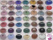 5 Lot Minerals Eyeshadow Set Bare Makeup Eye Shadow Kit U Pick 4 Sample Size New