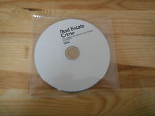 CD Indie Real Estate - Crime (1 Song) Promo DOMINO REC disc only