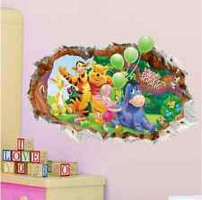 Removable Cartoon Winnie the pooh Wall Sticker Mural Vinyl Decal Kid Room Decor