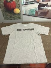 CONVERSE GRAY RAISED/STITCHED LOGO YOUTH SZ MEDIUM FREE SHIPPING!