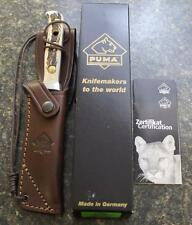NEW 2014 Puma 116393 Skinner Staghorn Hunter Fixed Blade Knife & Sheath UNIQUE!