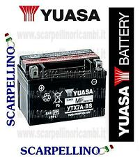 BATTERIA YUASA YTX7A-BS PER KYMCO PEOPLE 200 cc DAL 2005 -BATTERY