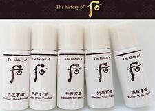 The History of Whoo Seol Radiant White Emulsion 100ml,20ea x5ml Whitening Lotion