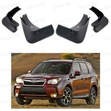 4Pcs Car Mud Flaps Splash Guard Fender Mudguard for Subaru Forester 2014-2015 16