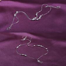 New Design Bracelet Foot Silver Anklet Foot Leg Chain Bracelet For Women