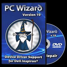 Drivers Restore Recovery Repair Dell Inspiron Laptops Windows 10 8.1 7 Vista XP