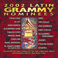2002 Latin Grammy Nominees by Various Artists (CD, Sep-2002, WEA Latina)